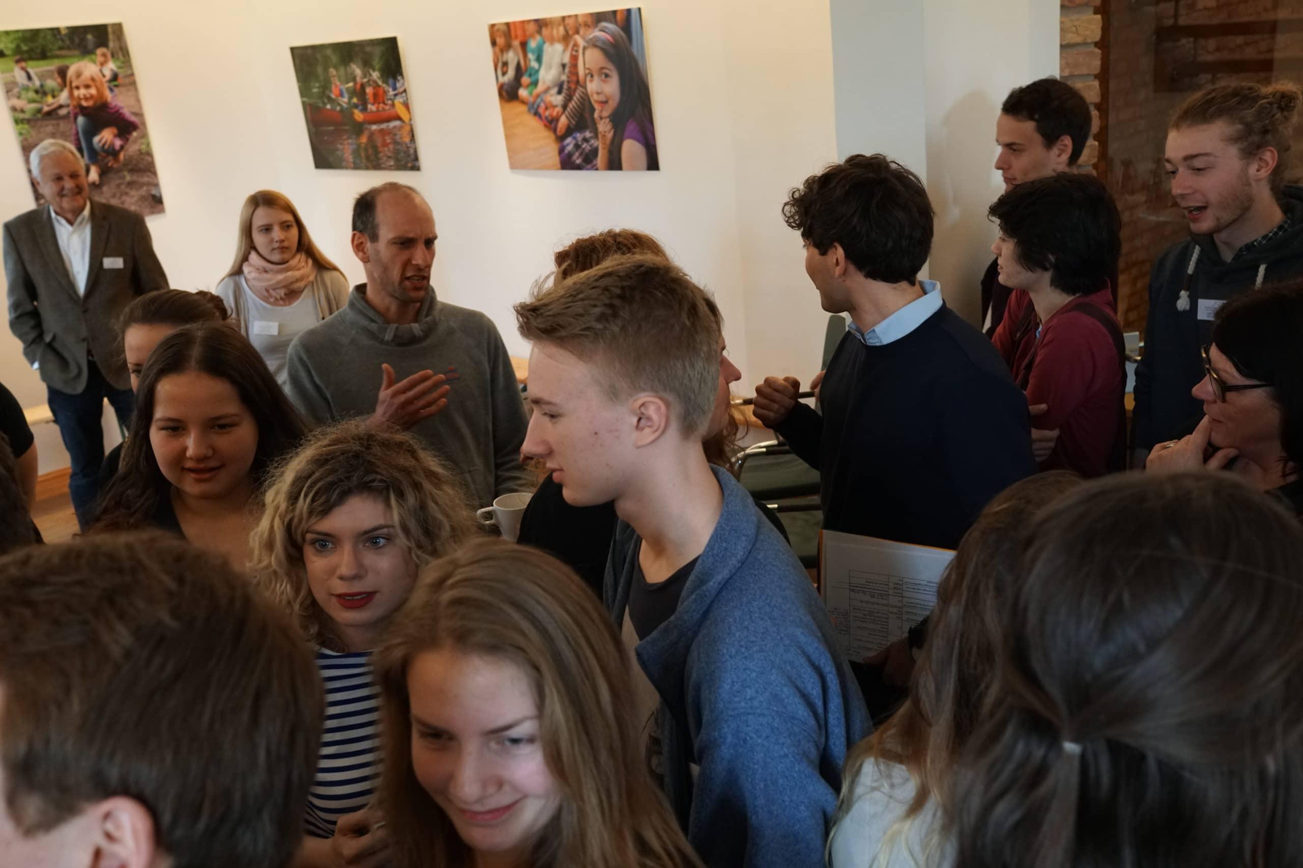 Junge Zukunftswerkstatt: Kennenlernen I