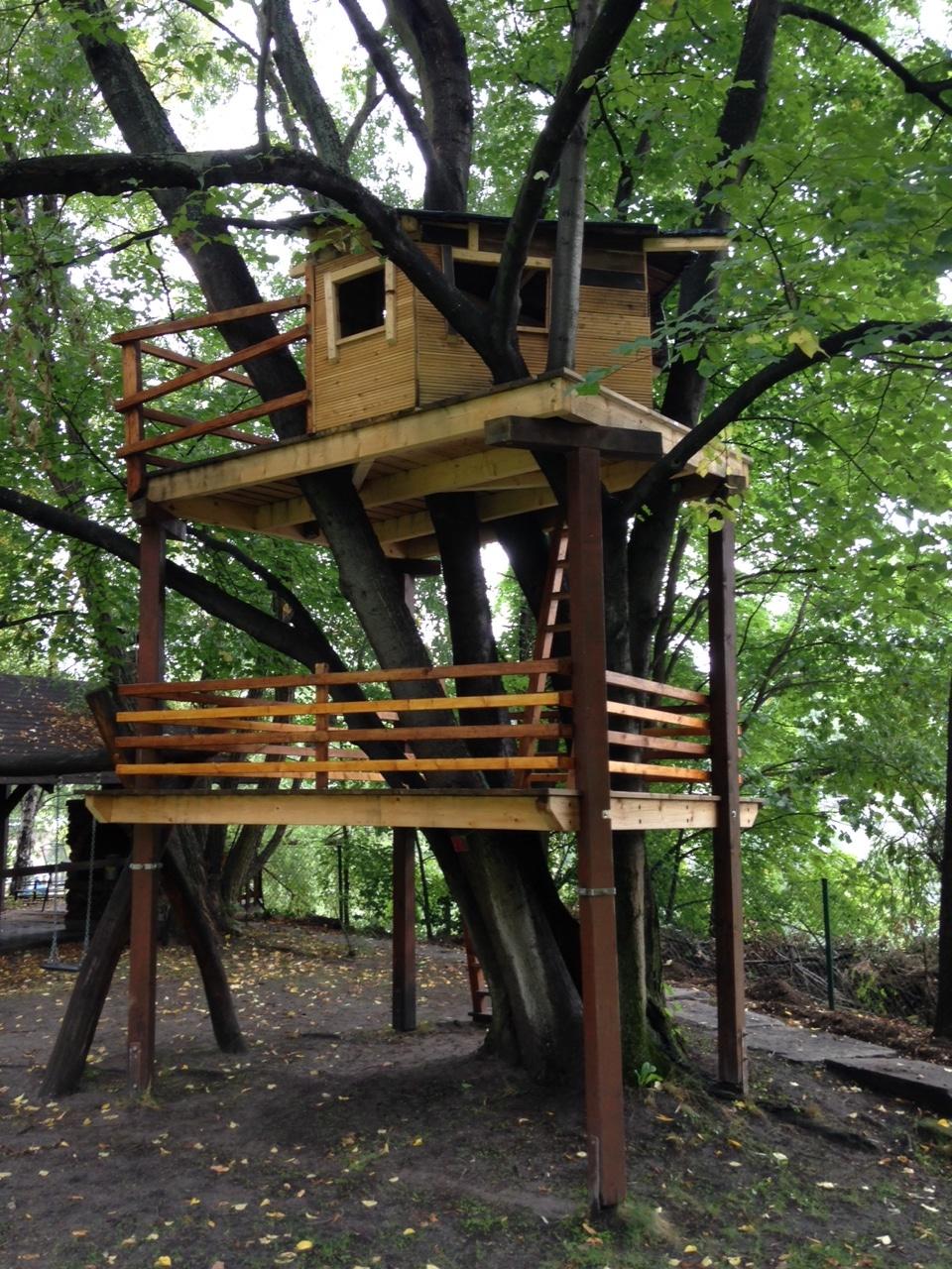Baumhaus im Stiftungsgarten