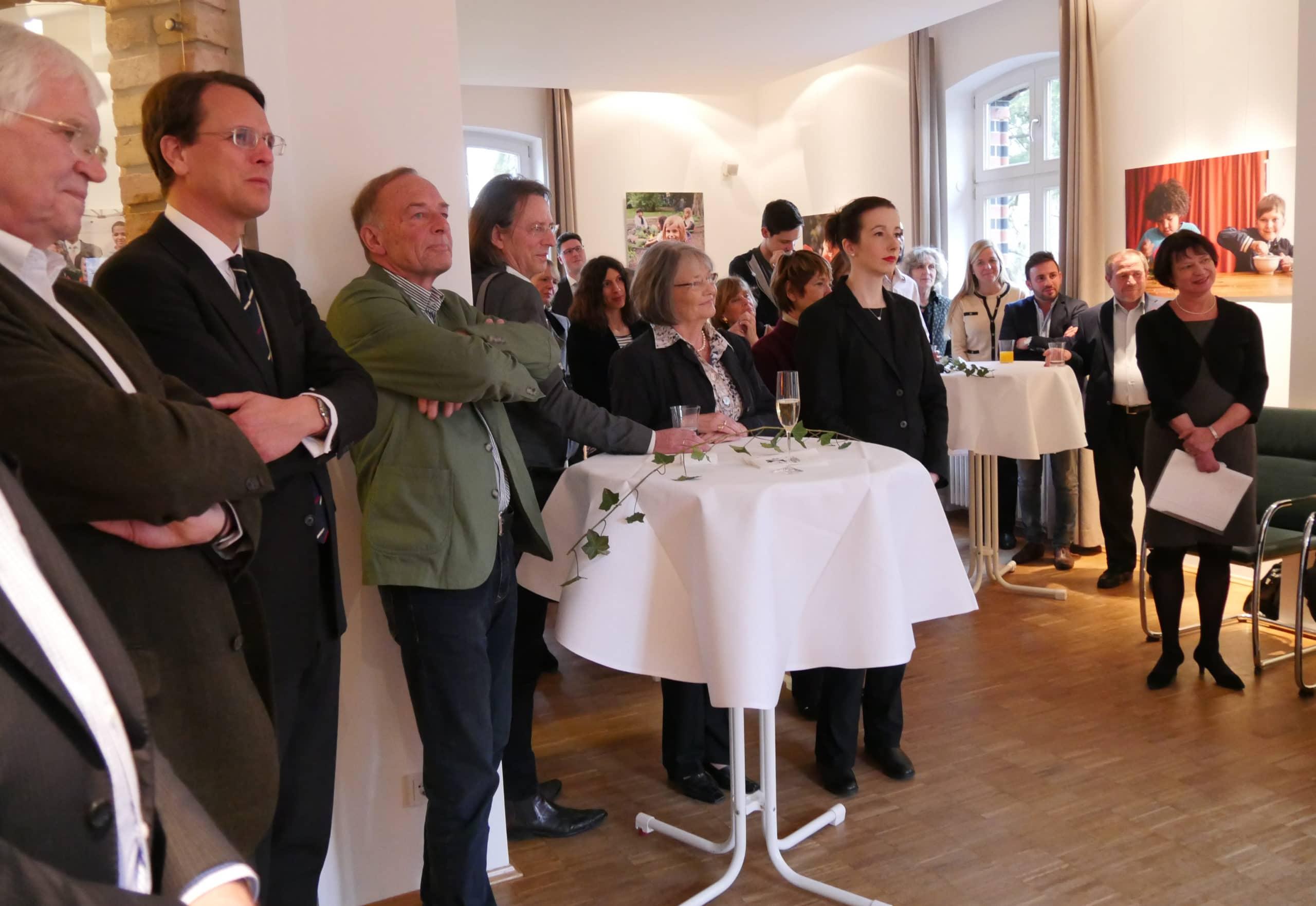 Bundesverdienstorden: Empfang im Stiftungshaus