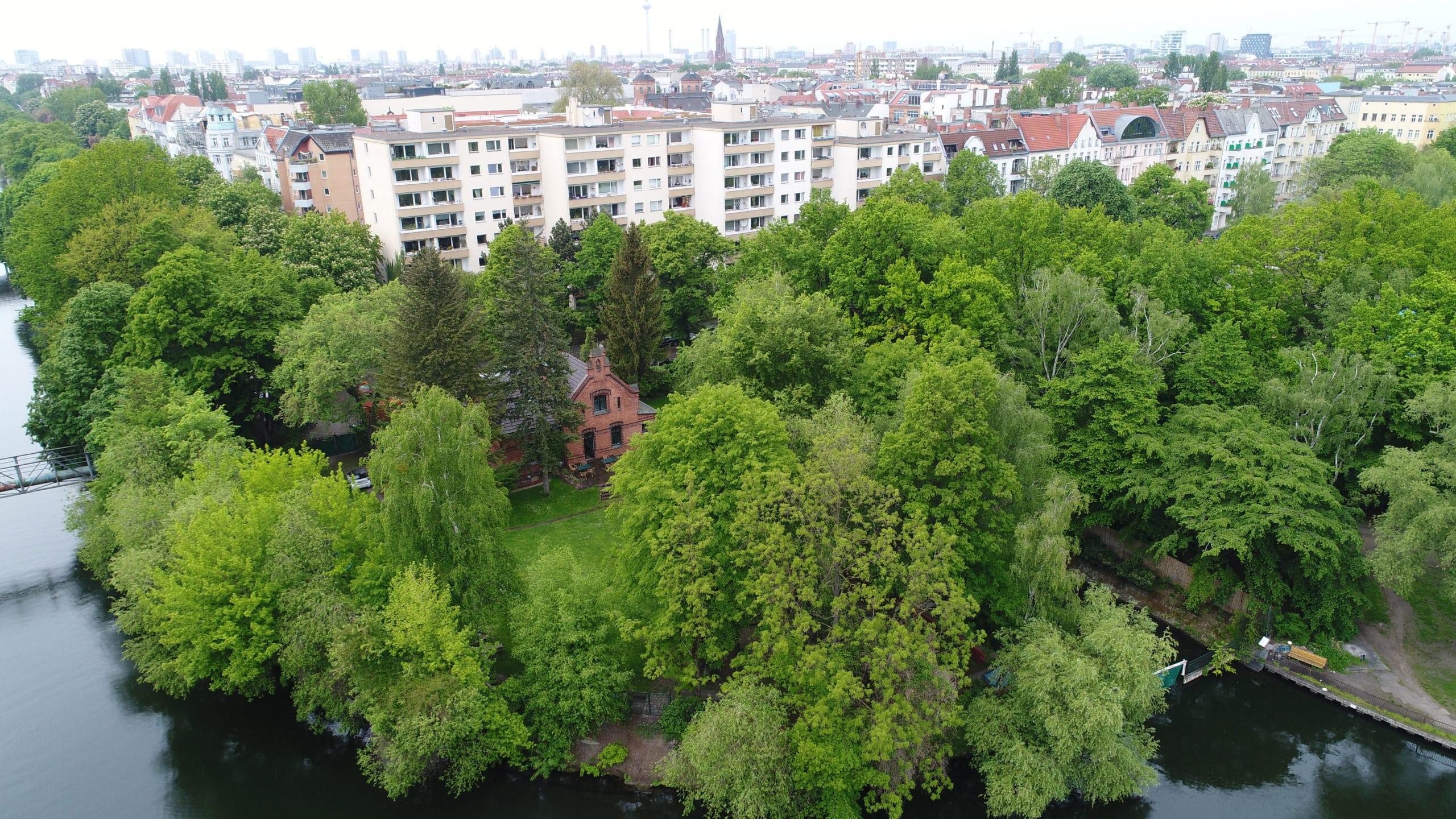 Drohne: Luftaufnahme Stiftungshaus I