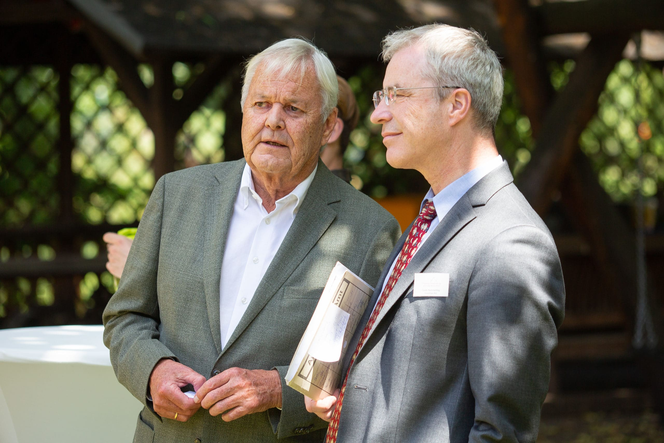Guido Kemmerling (Auswärtiges Amt) mit Peter Ackermann