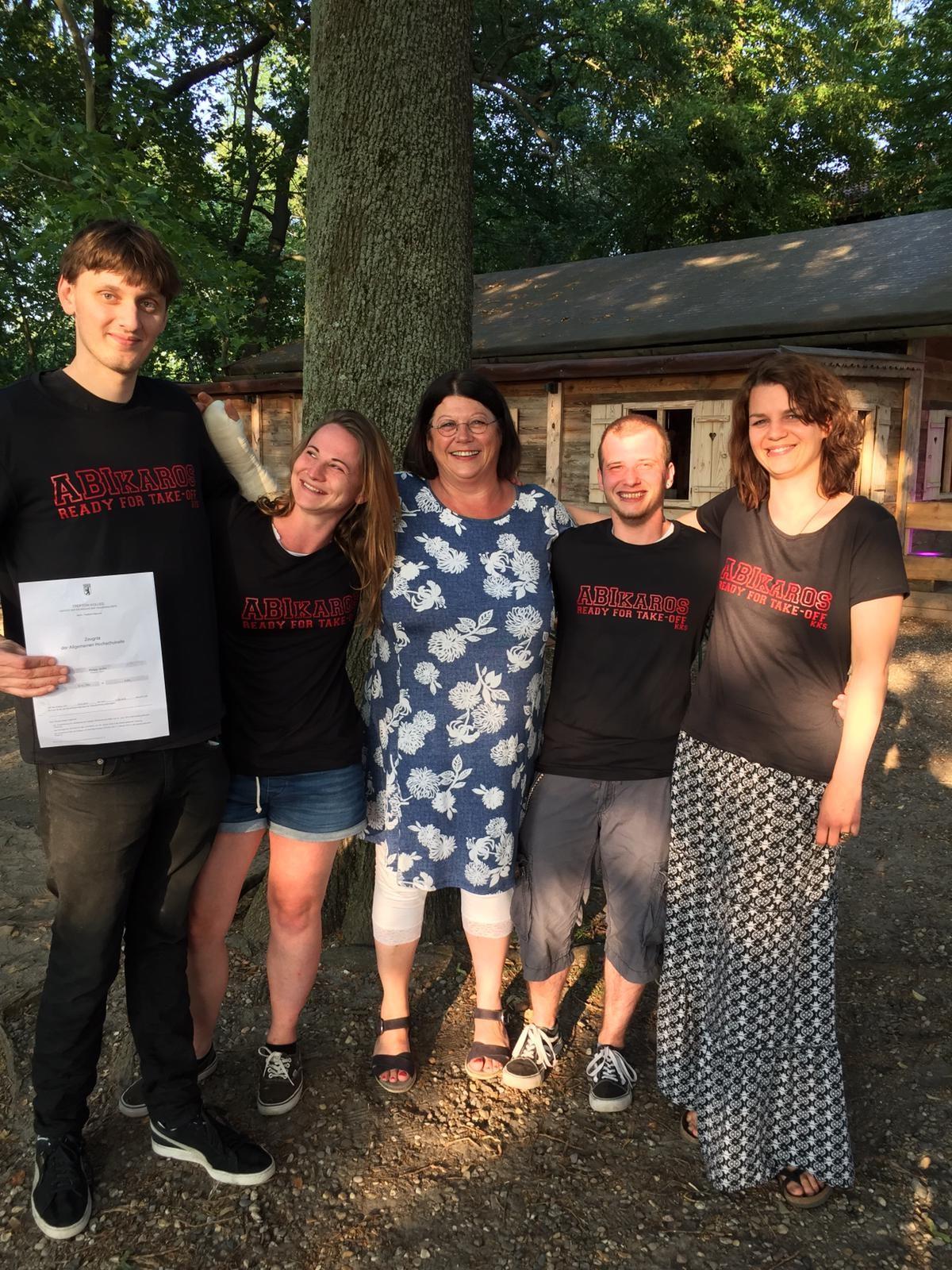 Ikaros-Stipendiat*innen Schul(jahres)abschlussfeier 2019