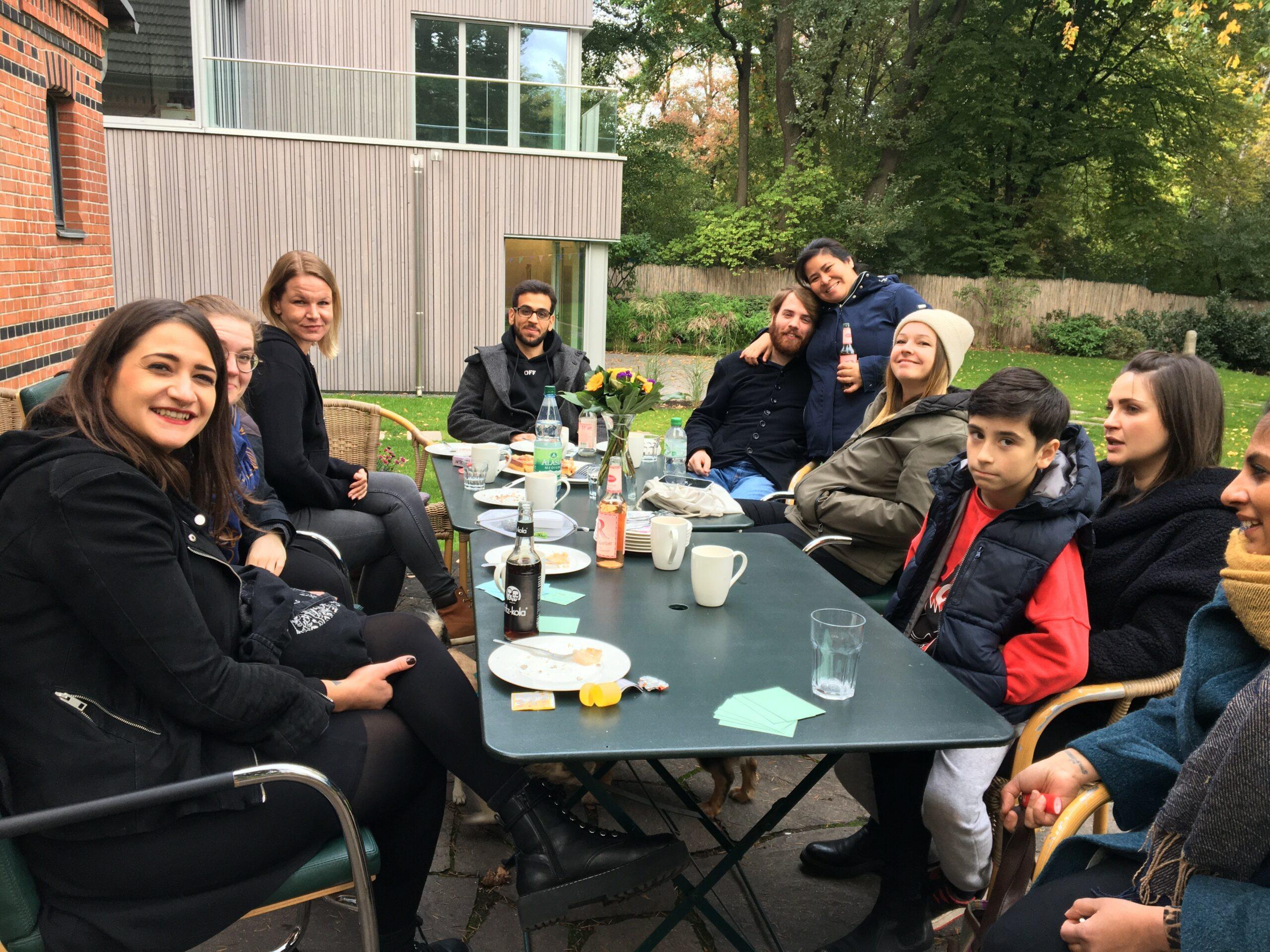 IKAROS-Treffen im Stiftungsgarten